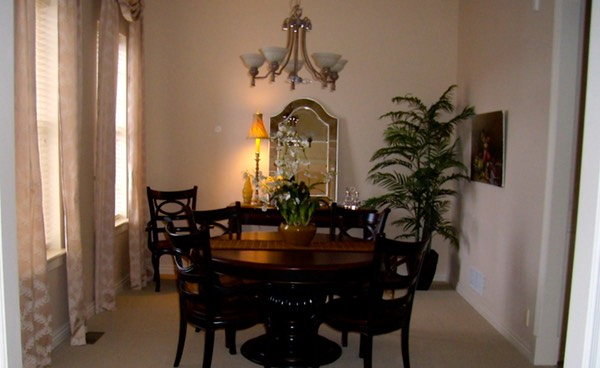 Dinning room after